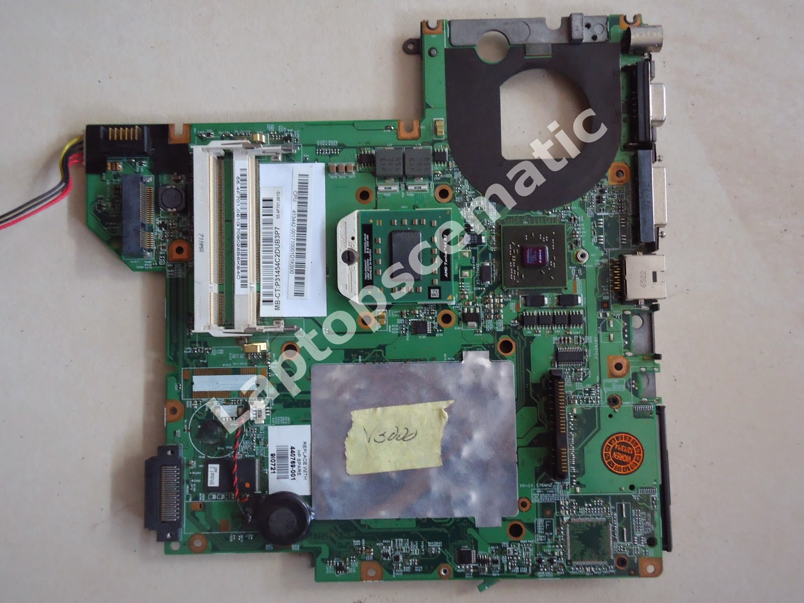 Motherboard Hp Compaq V3000 Amd Turion 64x2