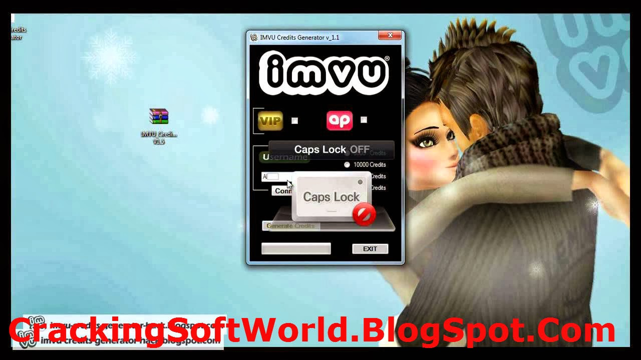 Imvu credit hack 2014 latest full version ~ hell of softwares.