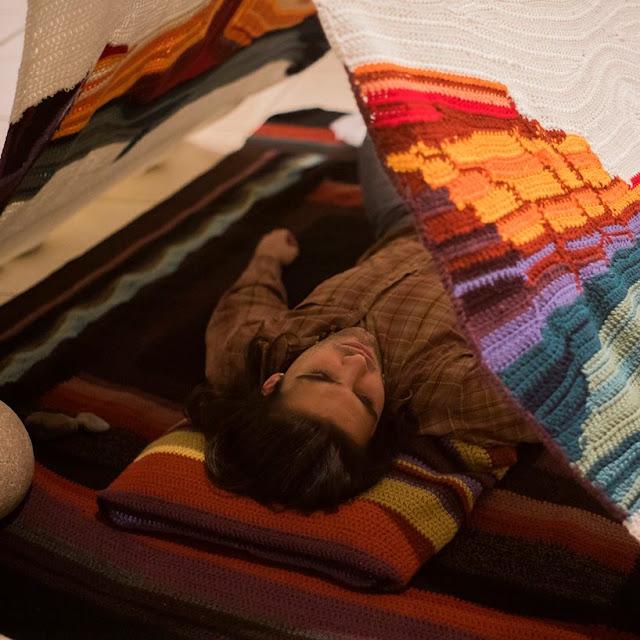 arte textil, arte interactivo, laura Mozzi, Neuquen, patagonia