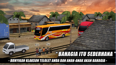 Telolet Bus Driving 3D Mod Apk Unlimited Money Full Free