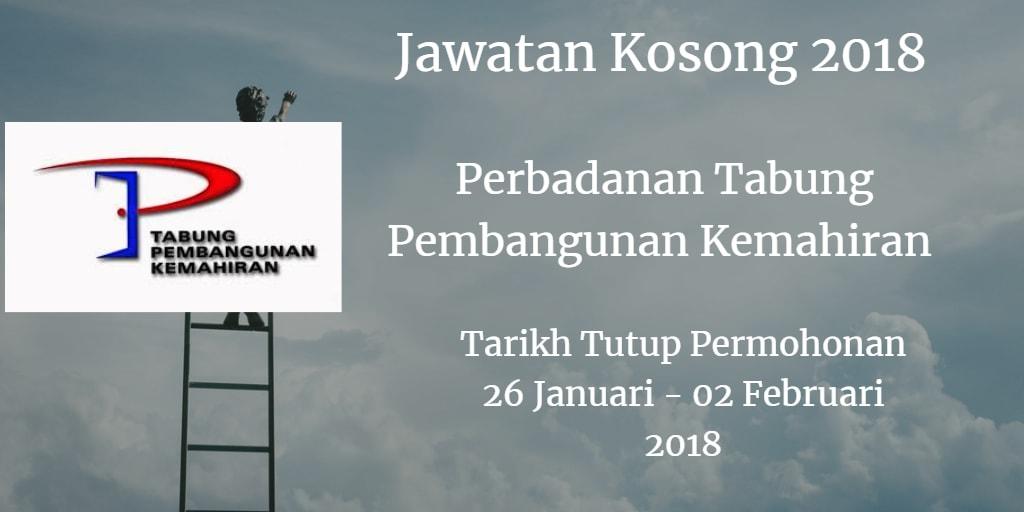 Jawatan Kosong PTPK 26 Januari - 02 Februari 2018
