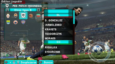 Game ISO PSP Android pes2016