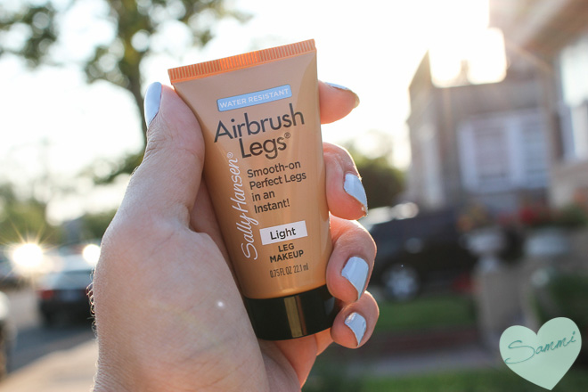 Sammi The Beauty Buff Review Sally Hansen Airbrush Legs Makeup Lotion