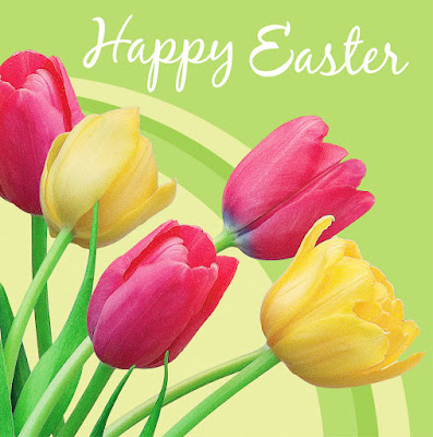 Happy Easter Background flowers%2Bcopy - Happy Easter 2017 Greetings   pictures   images