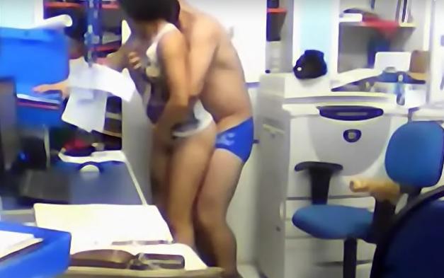 Funcionarios Flagrados Fazendo Sexo em Escola do Rio de Janeiro