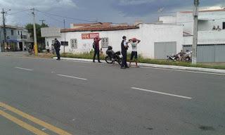 EM FORQUILHA-CE: POLICIA MILITAR REALIZA OPERAÇÃO SATURAÇÃO COM APOIO DO CPI NORTE.