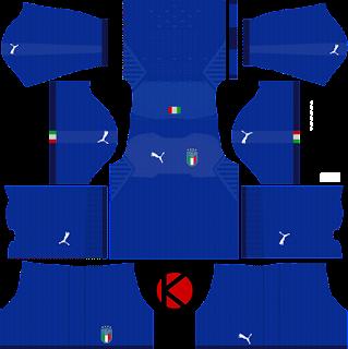 Italy 2018 Kit - Dream League Soccer Kits