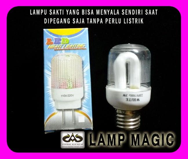 TOKO SULAP JOGJA LAMPU MAGIC