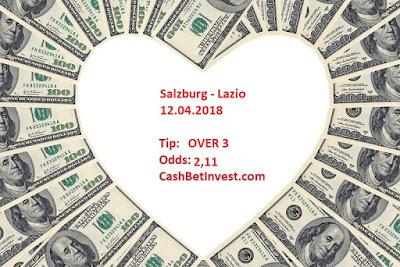 Salzburg - Lazio 12.04.2018 - Cash Bet Invest