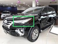Harga dan Fisik : Lampu Depan/Headlamp Kiri Toyota Fortuner VRZ