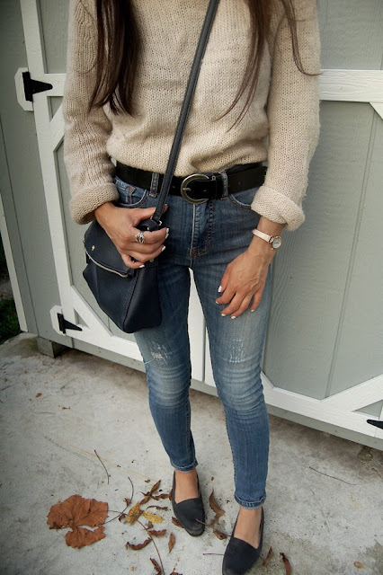 Fall Sweater Jeans