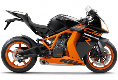 New 2016 KTM 1190 RC8R right side image