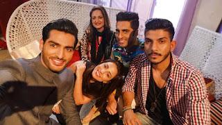 Ushna Shah and Mohib Mirza OnScreen Couple for Teri Meri Love Story - BTS