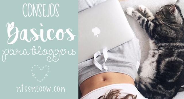 Consejos básicos para un blogger.
