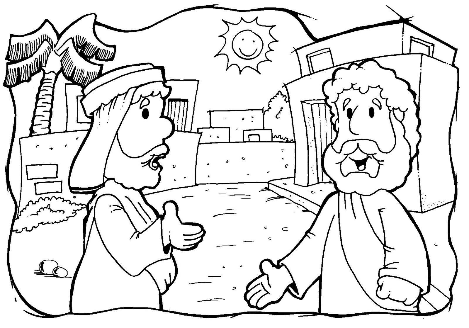 Colorindo e Desenhando: Desenhos bíblicos e religiosos