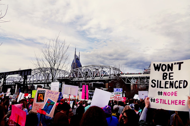 Nashvilles Womans march