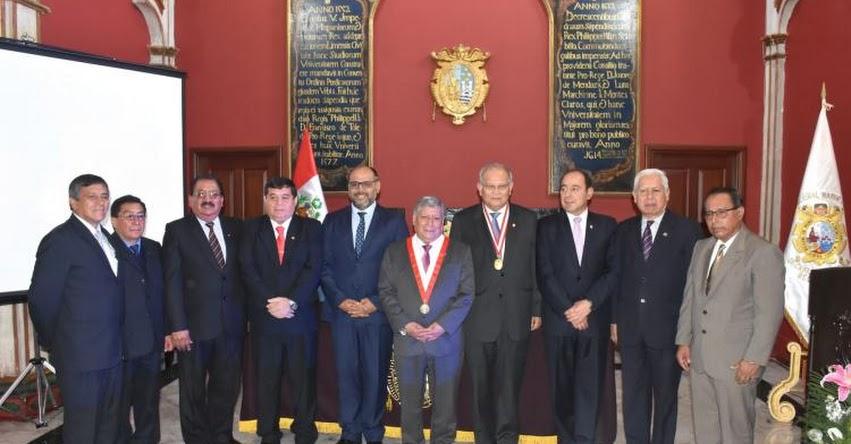 UNMSM: Universidad San Marcos y 11 universidades públicas del Perú buscan su internacionalización