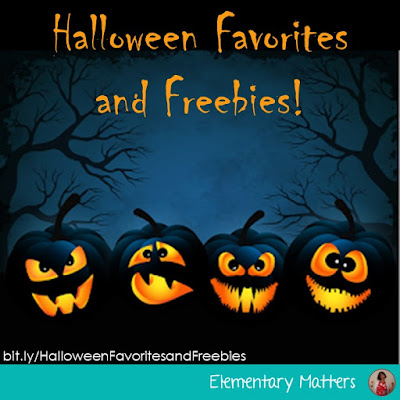 Halloween Favorites and Freebies! This post has several book recommendations, resources, and even a couple of Halloween related freebies.