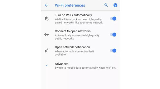 Auto-enable Wi-Fi