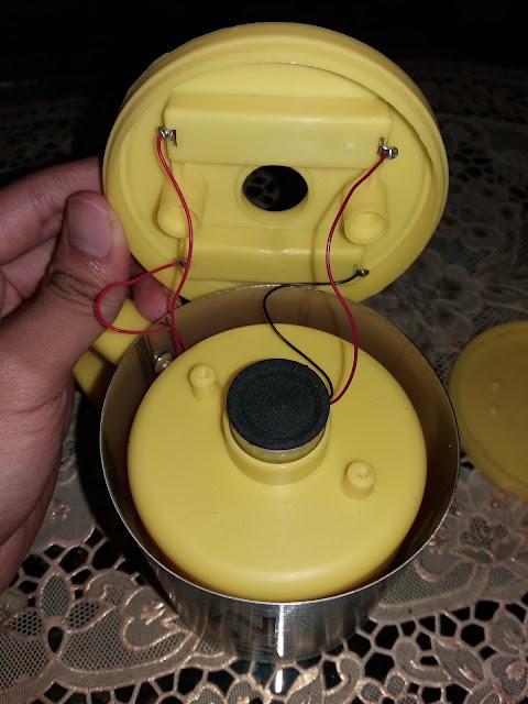 bongkar bagian dalam self stirring mug