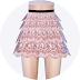 lace tiered skirt_레이스 티어드 스커트_여자 의상