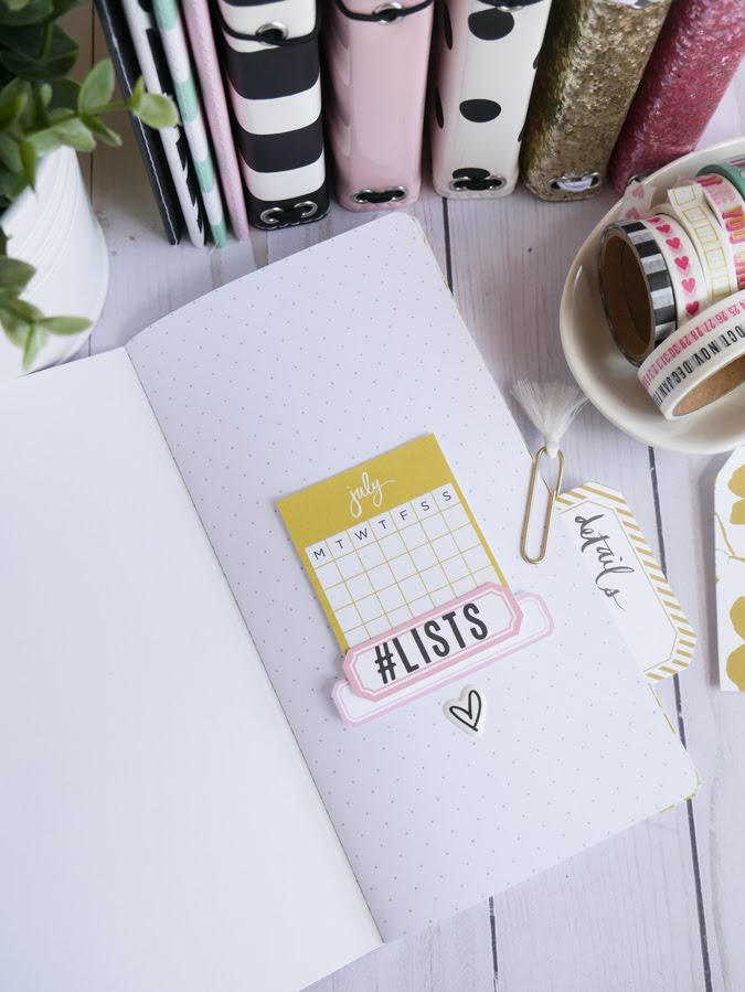 Heidi Swapp Journal Studio and Making Lists by Jamie Pate | @jamiepate for @heidiswapp