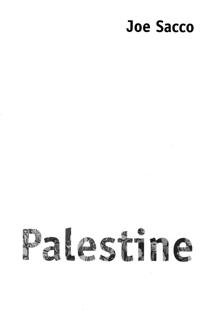 Read cover 2 of Joe Sacco - Palestine online