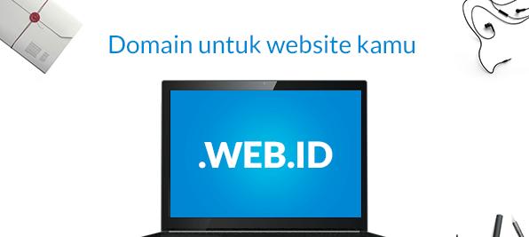 Daftar Promo Domain .WEB.ID Mulai 5 Ribuan