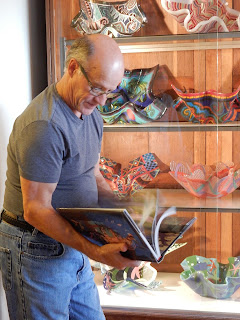 Richard, explaining some of his work
