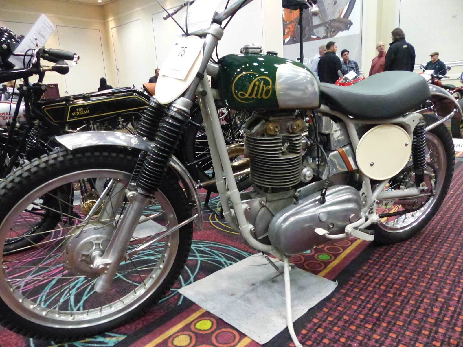 1962 Lito 500cc Moto Cross for sale at the 2016 Bonhams Las Vegas Motorcycle Auction
