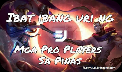 Different Types of Pro LoL Players in Philippines *For Fun Only*