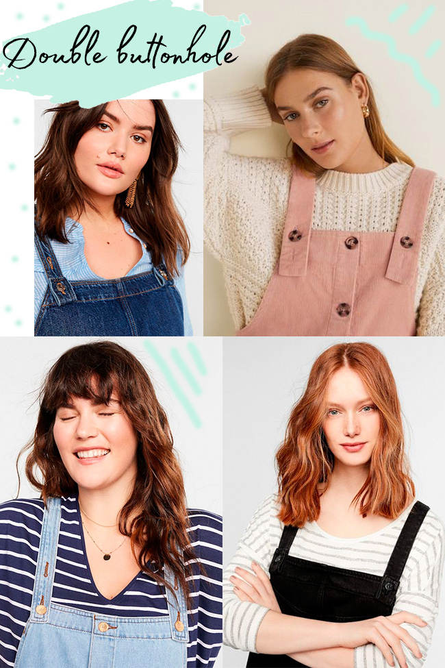 10 strap ideas for the Cleo dress - double buttonhole