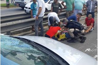 Homem é atropelado ao atravessar a BR-101 na Paraíba