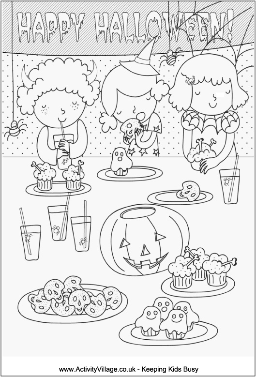 Tech and tools for teachers: Halloween Coloring Pages