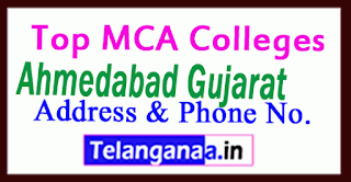 Top MCA Colleges in Ahmedabad Gujarat