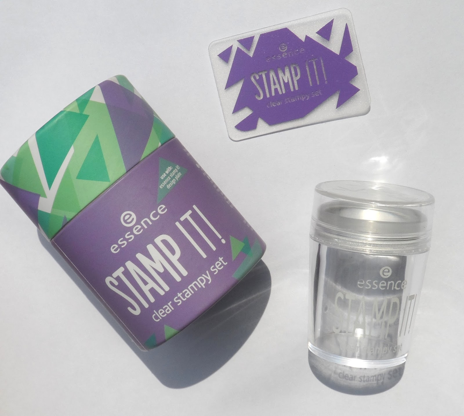 Review Essence Stamp It Clear Stampy Set