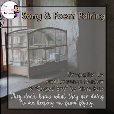 Many students are intimidated by poetry, so using music can help you ease them into poetry analysis as there's really no difference between looking at the lyrics of a song and the lines of a poem. Read on for 15 song and poem pairings that will liven up your poetry unit.