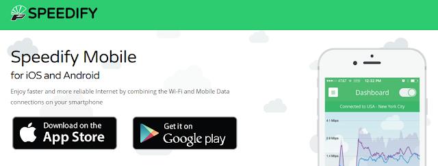 تطبيق لدمج الباقة مع شبكة الوي فاي للحصول على سرعة أنترنت خرافية