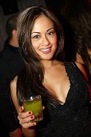 Katie Karerra in a nightclub