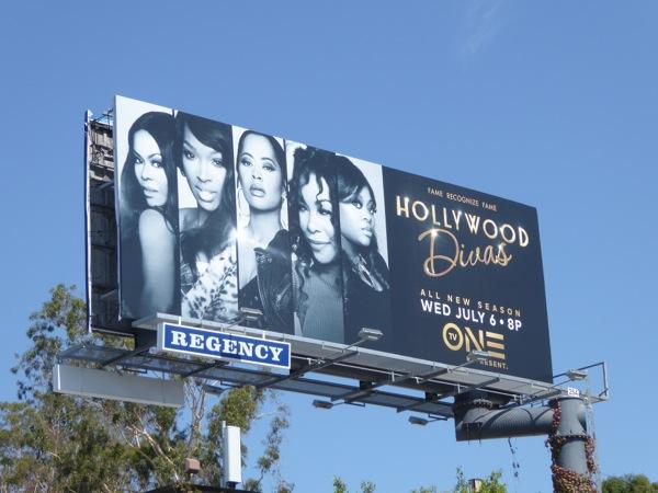 Hollywood Divas season 3 billboard