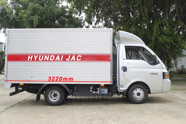 f9b1d9c9df383e666729 Xe tải HYUNDAI JAC HD150 Tải 1490kg Thùng dài 3m2 | Khuyến mãi 100% phí thủ tục.