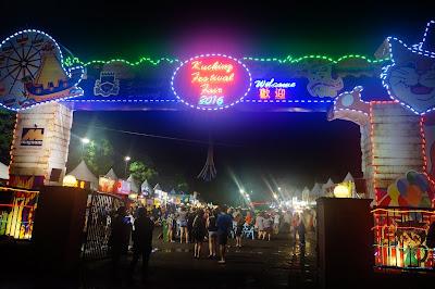 Kuching Food Festival, Waterfront Kuching, Sarawak, Malaysia