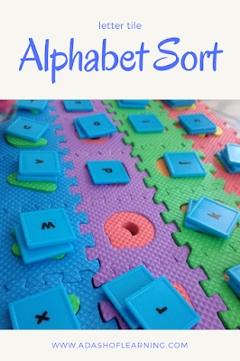 phonics letter tile lowercase alphabet sort for preschool
