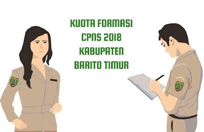Kuota Formasi CPNS Tahun 2018 Kabupaten Barito Timur