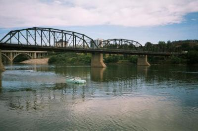 This Amphicar was photographed** in Saskatoon on the South Saskatchewan River