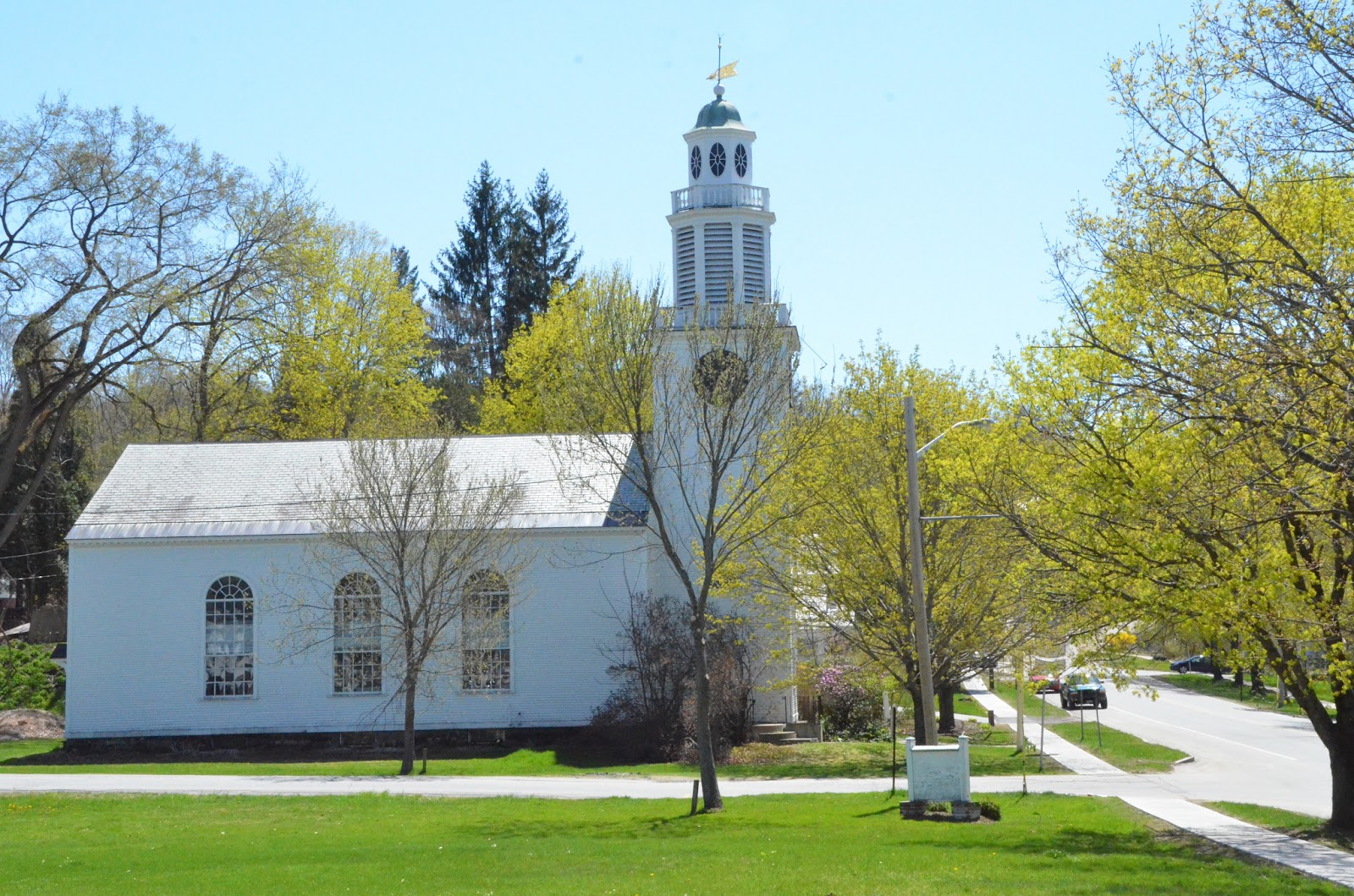 A Spring Walking Tour of Walpole New Hampshire