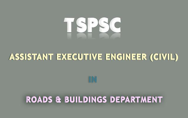 AEE-Roads-Buildings-Department-TSPSC-Recruitment-2017
