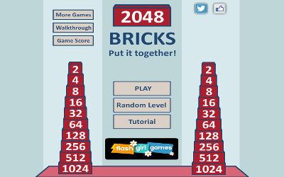 2048 Bricks - Jeu de Puzzle / Réflexion sur PC