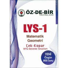 Özdebir LYS-1 Matematik Geometri Çek Kopar Deneme