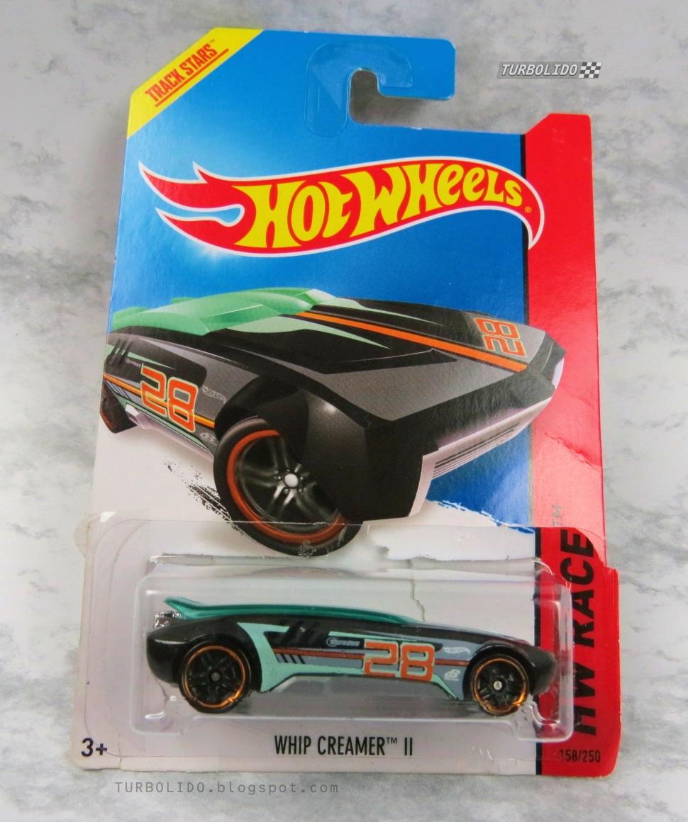 TURBOLIDO Cars: HOT WHEELS WHIP CREAMER II / HW BFF51
